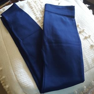 Aura Via Navy Fleece Lined Leggings BNWT